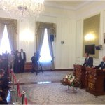 Press conference of the Russian and Iranian Foreign Ministers in Tehran #Lavrov @JZarif http://t.co/UUMsd2Whtm  Via @mfa_russia