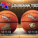 Double dip tonight in Ruston for the @LATechWBB & @LATechHoops teams against in state opponent NW State. #GameDay http://t.co/OUKsJCFEeU