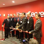 Celebrating grand opening of @HomeServeUSAs new corporate HQ in #Norwalk. Company will add 130 jobs at new location http://t.co/LkdC0Qx9n4