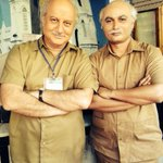 When writer of the film decided to play your duplicate. With Rahil Qazi writer, Ekkees Topon Ki Salaami.:)