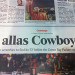 "No D in allas. ""@KVILJulieFisk: BEST Cowboys headline EVER @sportsdfw http://t.co/Q8Taa7OIfH"""