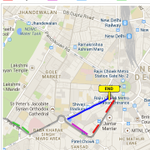#Delhi - Protest near Jantar Mantar, avoid this route. Use Shivaji Stadium rt towards Rajiv Chowk. Cc @WeAreNewDelhi http://t.co/9sUWj6YRWx