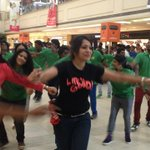 RT @rameshlaus: Looks like Actor @hasinimani and @ramyavj had lot of fun at the #CIFF13 Flash Mob at #EA..