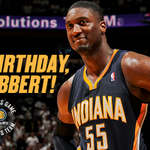 The Big Dawg turns 27 today.  Happy birthday, @Hoya2aPacer! http://t.co/VdCJxfGBvs
