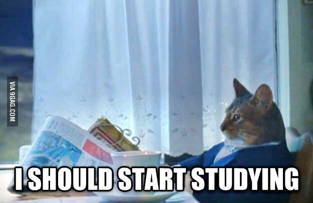 @9GAG: What every college/university student is thinking right now. #exam
