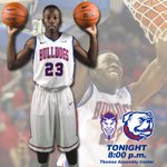 Its GAME DAY! Bulldogs and Demons, two teams who average over 85 ppg, face off tonight at 8 pm! #PackTheTAC #BeatNSU http://t.co/PWvrQwVBYz