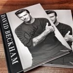 """It was great to look back at old photos and memories,"" Becks said. Look out for a competition to win a signed copy. http://t.co/Ef3Nvdie7g"