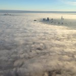 Twitter / @MPSinthesky: Its not foggy everywhere, ...