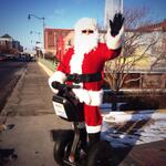 Hey @DowntownOKCInc we spotted Sonic Segway Santa in Bricktown! #DowntownInDecember http://t.co/SI0iie7NeX