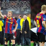 RT @FootballQuote_: This is class, when United played Barcelona in the champions league final http://t.co/mKz2c5IoJ9