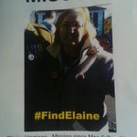 RT @AndyHarrison80: Still searching #FindElaine. http://t.co/7RJf6Mdlhq