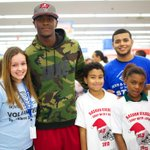 RT @WalmartNewsroom: Thanks, @JBANKS_13, for joining #Walmart to help families #ShopWithaJock this holiday! http://t.co/HXESRI85aY