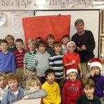 .@geoff_calkins and Hen Tina visit 2A boys @ #pdsmem to share his life as a hen dad and egg delivery boy. http://t.co/jMR54vUf4T