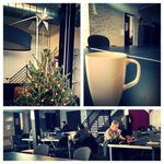Check out @parisoma. Coffee, holiday decor & plenty of #workspace. #sf #coworking @DesksNearMe http://t.co/zL78Z1K5at