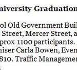 At 12pm there will be a rolling road closure through #Wgtn for @VicUniWgtns Graduation Parade. Expect delays. ^MA http://t.co/11FgvGae7L