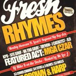 #FreshRhymes kicks off THIS FRIDAY! Come get some #Dallas #HipHop in your life. Flier -> http://t.co/U1RxaewLlZ