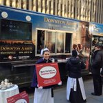 Downton Abbey food truck giving away free tea at 50th St & Sixth Ave today #NYC (@adallos) http://t.co/LUHxVY9nbg