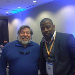 RT @magiclogix: Sean Smith with Steve Wozniak at #DDSum13 http://t.co/DRVijbjbLP