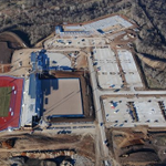 Work is coming along!  Rock Chalk Park! http://t.co/mOvGwHgPXu