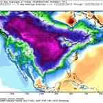 Arctic Outbreak on the way for week of Xmas! Temps warm thru next week then the North Pole drops to Texas!! http://t.co/1AlXZgfLC6