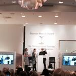 Standing O for Karl with Anna and our CEO Karen Katz #ChanelDallas http://t.co/CzihlpMCns