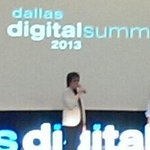 The actual voice of Siri looks a lot more like a PC and not a Mac #ddsum13 http://t.co/QZZkNIchJr