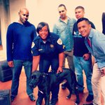 Youth showed off their skills at our Hip-Hop class at #Miami Juvenile Detention Ctr, Then we hung out with the dog! http://t.co/w4cgGEnOGd