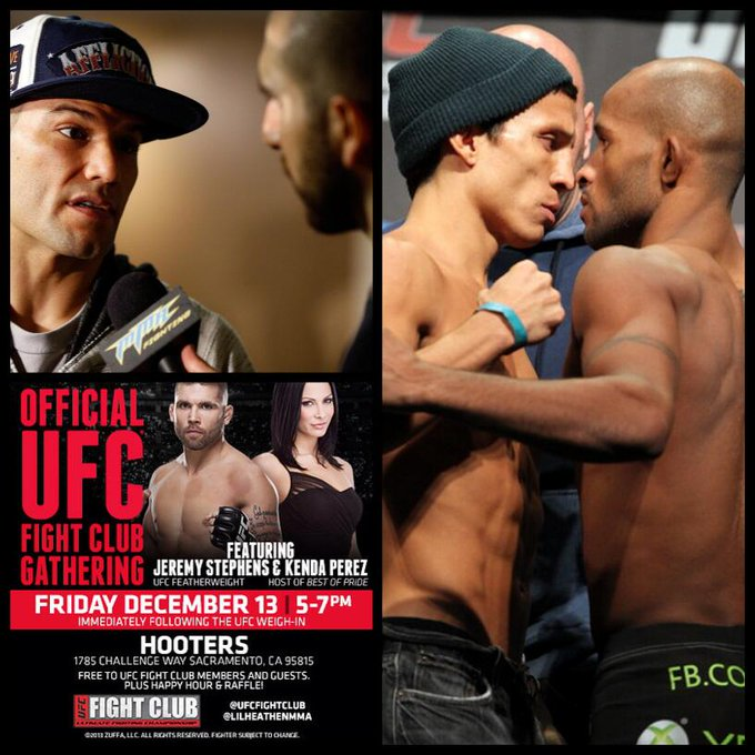 2 days til FC Q&A w @THEREALPUNK, UFC on FOX 9 weigh-ins, & FC Party w @LiLHeathenMMA & @KendaPerez #FightClubFriday http://t.co/HacPHSHpWW