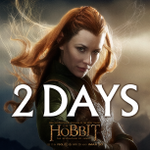 RT @TheHobbitMovie: In 2 days… #TheHobbit @EvangelineLilly http://t.co/XAEibtyZqz