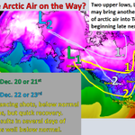 RT @NWSFortWorth: Could arctic air return late next week?  Its possible!  #txwx #dfwwx #ctxwx #texomawx http://t.co/ZZVoZuN9ZZ