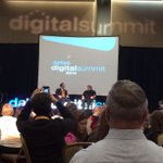 Apple co-founder (as if he needed an intro), @SteveWoz on stage at #DDSum13... http://t.co/MsT7aDhgkG