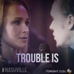 "RT @Nashville_ABC: Get ready to hear Juliette & Avery sing ""Trouble Is"" in 3 hours! #Nashville Winter Finale http://t.co/yObjCGe8ZZ"