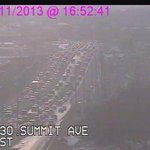 *TRAFFIC ALERT* I30 @ Summit moving slow in both directions http://t.co/eIfo1LopsD