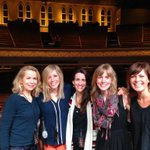 Girls gone Ryman! @sallylloydjones @ellieholcomb @Sandramccracken and Claire Indie. http://t.co/eU9qwztBTX