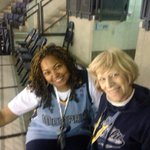 Grizzlies Granny Maureen and Grizzlies Granny LeNiece in the Fed-ex Forum supporting our team! Grit & Grind! http://t.co/yCC6MPYYWB