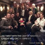 Twitter / @Nashville_ABC: The cast is ready to live ...