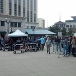 Check out this picture from the day they were shooting that scene in #Nashville! http://t.co/5Uqjsz0P7f