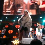 Heres @MileyCyrus onstage -- twerking with Santa. @GoodDayAtlanta #Fox5atl http://t.co/D4s2J9q9Eg