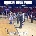 And thats a LA Tech sweep! The Dunkin Dogs take down NWST 93-71! #WeAreLATech http://t.co/li09BQLcpC