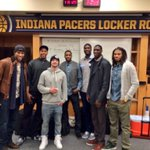 RT @Pacers: To celebrate @Hoya2aPacers 27th birthday, the team attended @jtimberlakes concert @TheFieldhouse. http://t.co/fFbZ3bc6fK