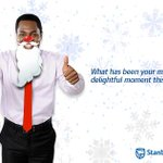 #StanbicDelight What has been your most delightful moment this year? The tweet with the most likes gets a RT. http://t.co/pEagySM5wV