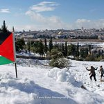 RT @iFalasteen: Our beloved city AlQuds, #Palestine. with the new snow. http://t.co/A5U8bJpKmS