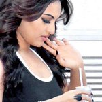 Sonakshi Sinha on the sets of Prabhu Dheva's next Action Jackson.