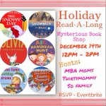 Its a Mommy & Me Holiday Read Along in #NYC. Join @Sofamilyonline @TheMBAMoms @thirtymommy. http://t.co/n8vs6cbHij http://t.co/uBtMTs1xR8
