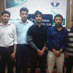 Seminar at Karachi Press Club for PM Business Loans Scheme - Arranged by PMLN Social Media Team Karachi http://t.co/vP21ARwbWx