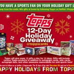 Day 4 of the  #topps12daygiveaway is here!  It isThursday time to back to FB!  RT and follow 2 win a box of Topps FB! http://t.co/ZslZeMXan9