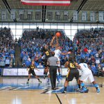 Crowd of 10,028 at todays @MT_WBB vs. @KSUOwlsWBB game. 4th largest in MT history. http://t.co/nNw4EYvdcp #ncaaW http://t.co/etYGWt0ipY