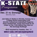 *Deadline Extended!* RSVP by Tues., Dec. 17 for the #KState vs. #Gonzaga Pregame in #Wichita! http://t.co/HkaiLgfFJG http://t.co/Of9mgl0Tl3