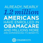 1.2 million Americans now have health insurance thanks to #Obamacare! Are you covered? #ACA #GetCovered http://t.co/DFJjc7tFtZ
