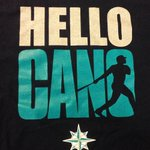 #HelloCano T-shirts have arrived. RT by noon and make sure youre following @Mariners for a chance to win. http://t.co/GpSUVacaiC